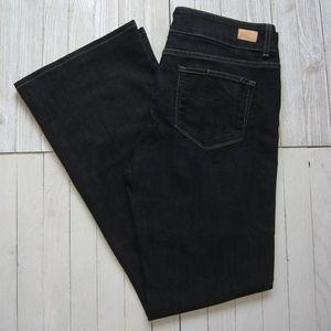 PAIGE Hidden Hills Dark Wash Jeans Flare Cut SZ 32